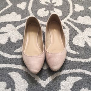 Old navy suede point toe flats